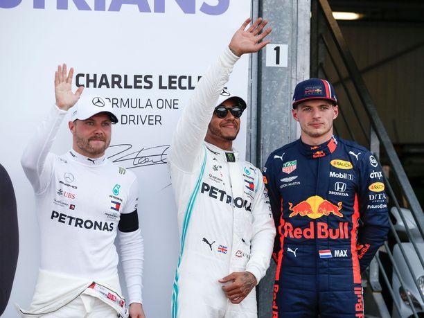 Valtteri Bottas, Lewis Hamilton ja Max Verstappen muodostivat F1-sarjan kärkikolmikon kaudella 2019. Kaikki kolme ajavat vielä ensi kauden nykyisissä talleissaan, mutta kaudella 2021 tilanne voi olla täysin toinen.