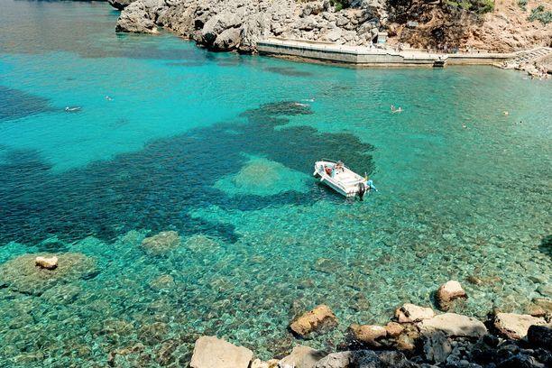 Suositulta Mallorcalta löytyy myös rauhallisia poukamia.
