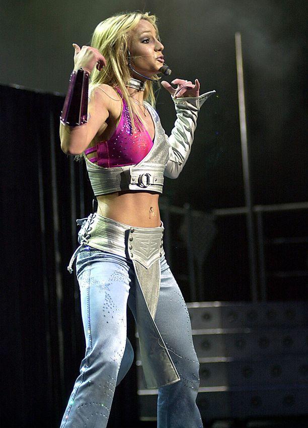Britney vuonna 2000.