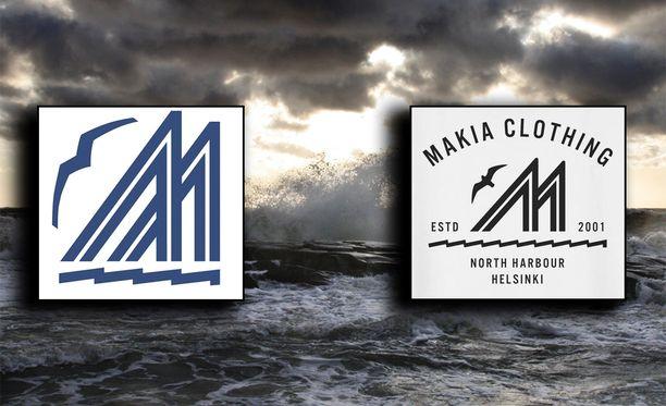 Pursiseura Merenkävijöiden (vas.) ja Makian välillä myrskyää. Seuran mukaan Makian edelleen myynnissä oleva printti on plagiaatti.