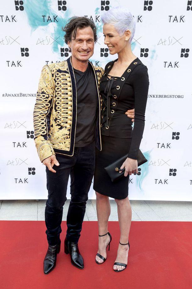 Petter Stordalen ja Gunhild Stordalen ehtivät olla naimisissa yhdeksän vuotta. Kuva vuodelta 2017.