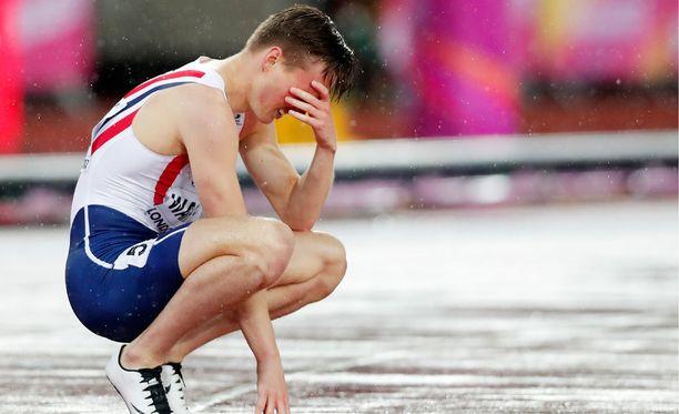 21-vuotiaalla juoksijatähdellä kesti aikaa sulatella tapahtunutta.