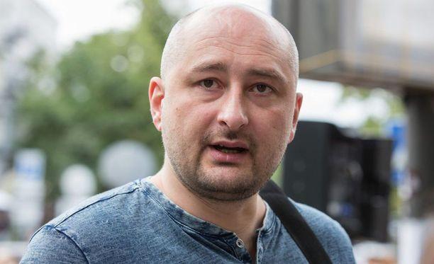 Babchenkoa ei murhattu, mutta palkkamurha kyllä tilattiin, kertoo Ukraina. Toimittaja on elossa.
