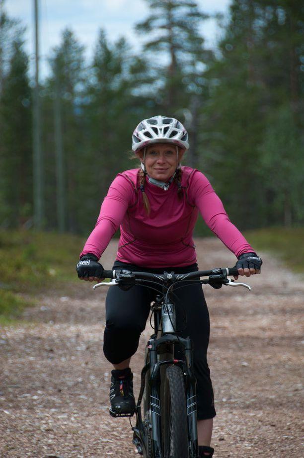 Ylläksellä on hyvin reittejä sekä retki- että maastopyöräilijöiden tarpeisiin.