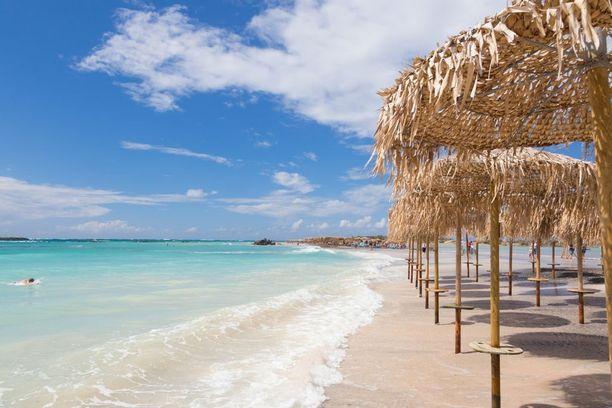 Kreeta tarjoaa matkailijalle upeita rantoja.