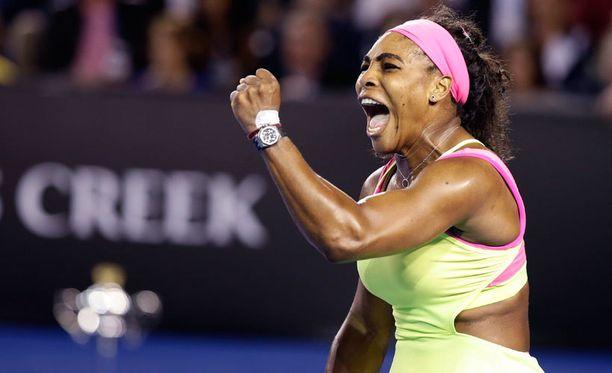 Serena Williams voitti Australian avoimet.