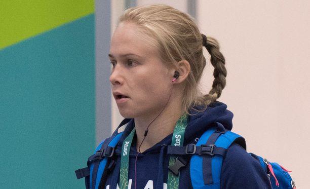 Petra Ollilla on noin kahdeksan vuorokautta aikaa toipua aikaerosta täyteen olympiaiskuun.