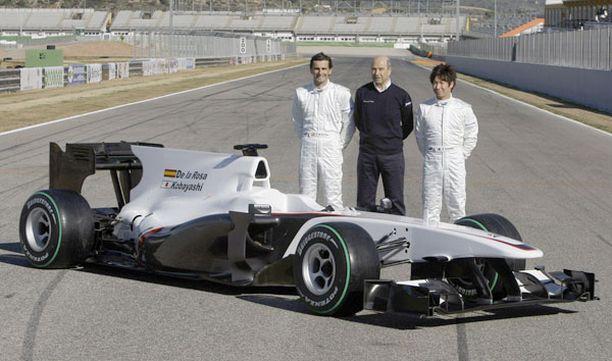 Sauberin uusi ajokki esiteltiin Valencian radalla.