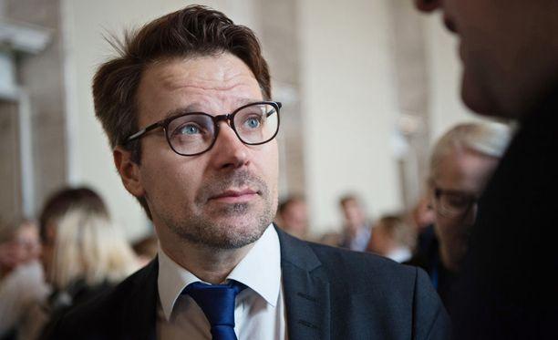 Vihreiden kansanedustaja Ville Niinistö.