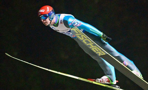 Janne Ahonen oli ainoa suomalainen toisella kierroksella.
