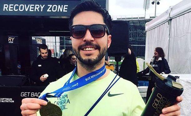 Matt Campbell oli juossut Manchesterin maratonin vain kahta viikkoa aiemmin 8. huhtikuuta.