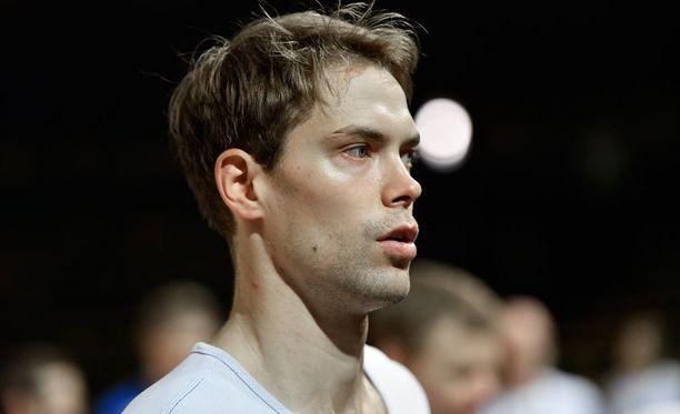 Petteri Koponen oli liekeissä sunnuntain ottelussa.