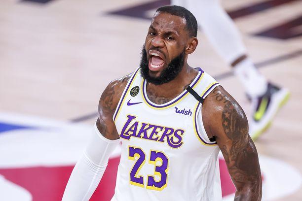 Los Angeles Lakersin LeBron James on yhteiskunnallisesti valveutunut koristähti.