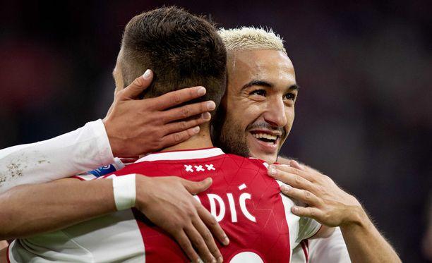 Punavalkoisista paidoista tunnettu Ajax nähdään neljän vuoden tauon jälkeen Mestarien liigan lohkovaiheessa.