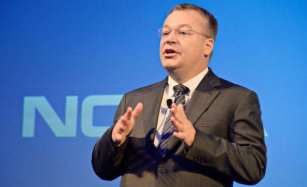 Stephen Elop nähdään puhumassa tänään Nokian työntekijöille.