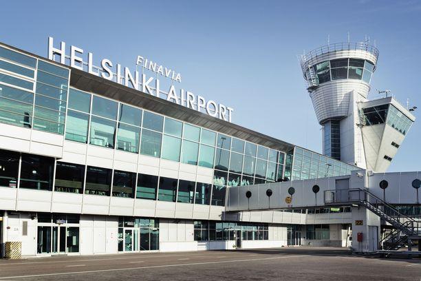 Vaaratilanne tapahtui Helsinki-Vantaan lentoasemalla.