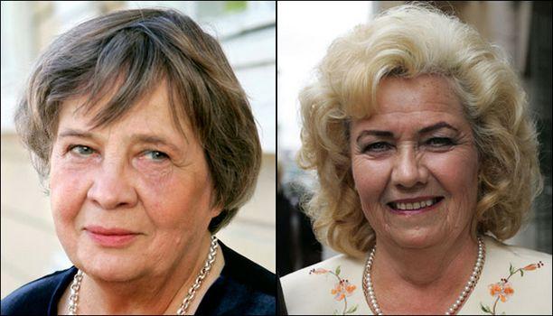 Ystävykset Ritva Sarkola ja Tuula Sariola joutuvat oikeuteen.