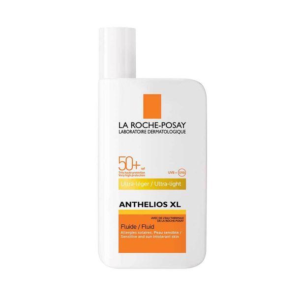 La Roche-Posayn XL Fluide SPF +50 sopii kasvoille ja tarjoaa tehokasta suojaa sekä UVA- että UVB-säteitä vastaan, 19,50 e