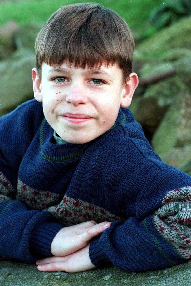 Tällaisena pojankoltiaisena Andy saapui sarjaan vuonna 1996.
