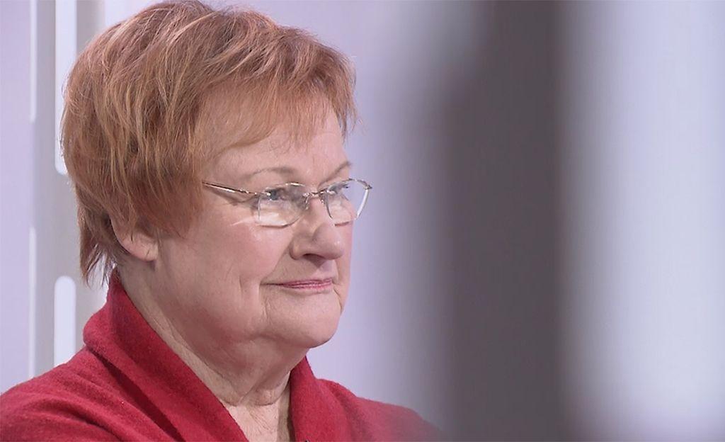 Harvinainen haastattelu tänään tv:ssä: Tarja Halonen puhuttelee avioliittonsa pilkkaajia