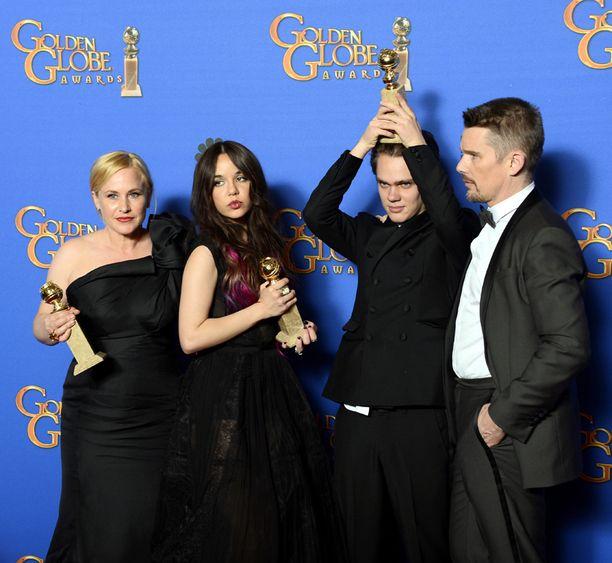 Boyhood kahmi maanantaina Golden Globe -palkintoja.