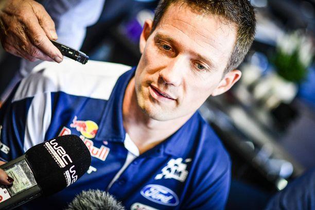 M-Sport Fordin Sebastien Ogier tykitti heti tyrmäävän pohja-ajan.