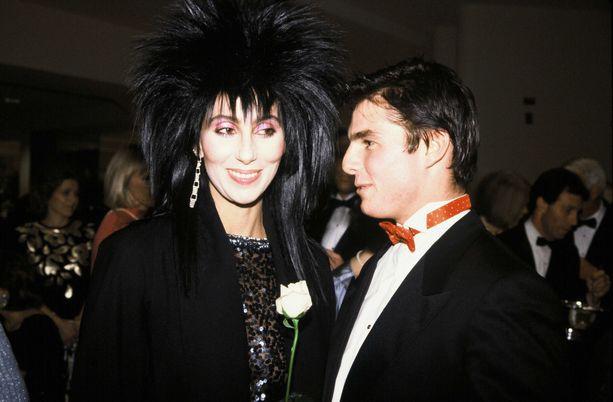 Cher ja Tom Cruise elivät aikoinaan kiihkeän romanssin.