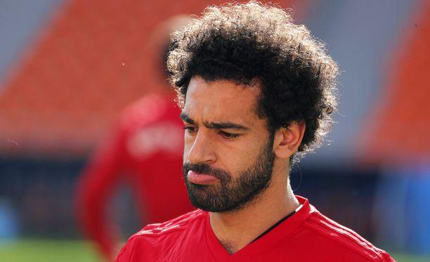 Mohamed Salahia ei nähdä perjantaina ainakaan avauskokoonpanossa.