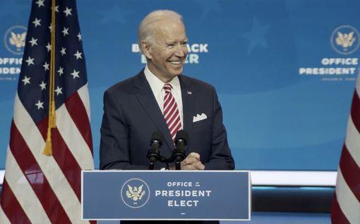 """Pennsylvanian voittajaksi vahvistettu Biden julistaa Twitterissä: """"Vaalit ovat ohi"""""""