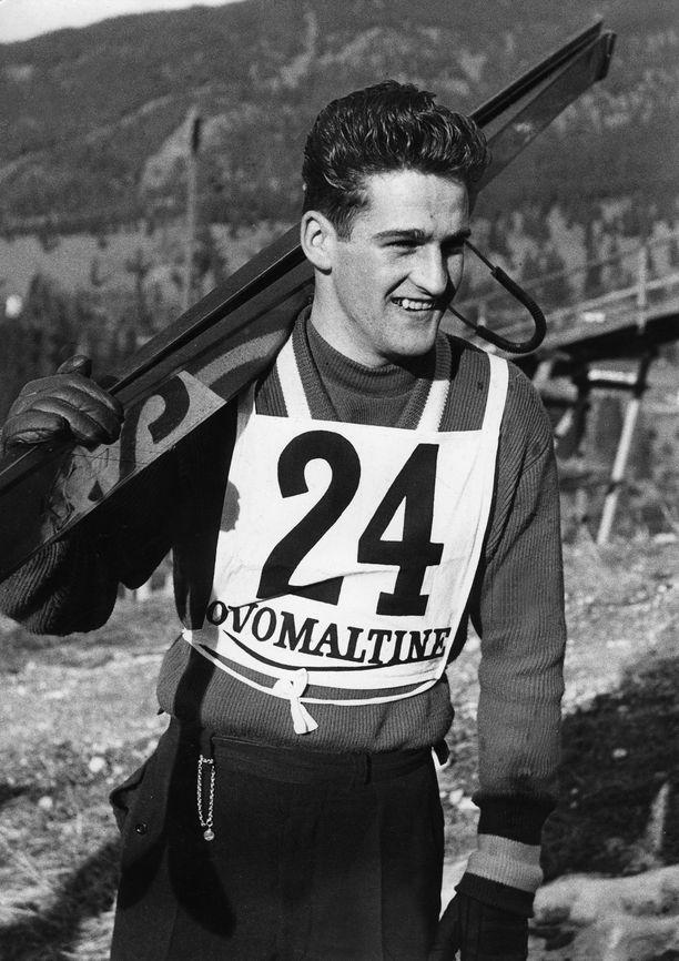 Helmut Recknagel voitti olympiakultaa vuonna 1960.