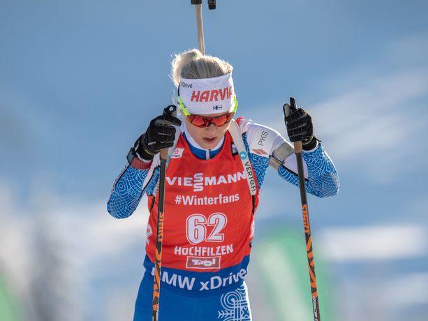 Mari Eder ankkuroi Suomen naiset 17. sijalle.