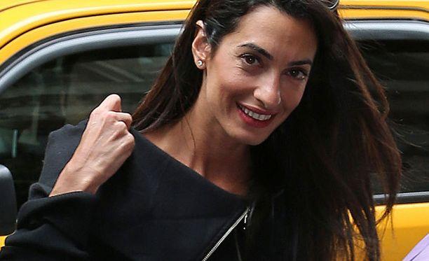 Amal Alamuddin kihlautui tovi sitten Clooneyn kanssa.