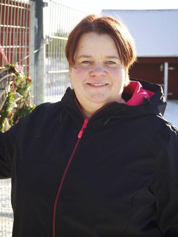 44-vuotias Petra asuu Hämeenkoskella.
