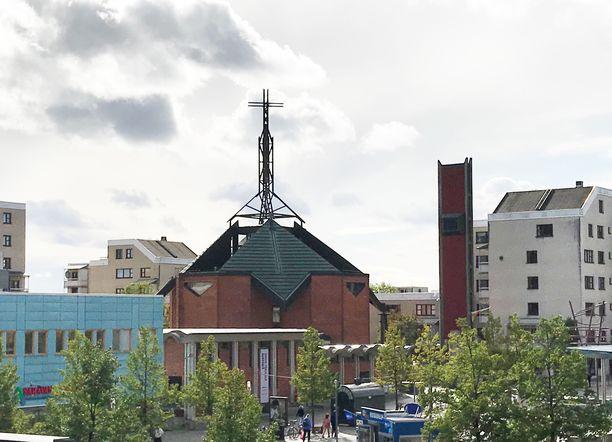 Rikos tapahtui Kistassa Tukholmassa.