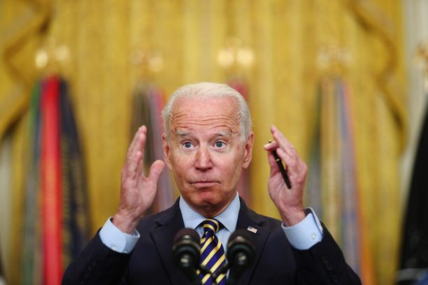 Venäjälle jäljitetyt verkkorikollisryhmät ovat organisoineet laaja-alaisia hyökkäyksiä viime aikoina. Kuvassa Yhdysvaltojen presidentti Joe Biden.