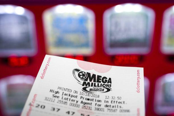Mega Millions -lotto arvotaan tiistaisin ja perjantaisin kello 23.00 itärannikon aikaa.