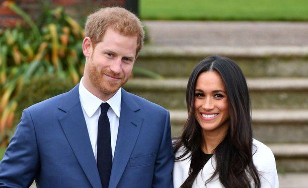 Prinssi Harry ja Meghan Markle menevät naimisiin 19. toukokuuta 2018.