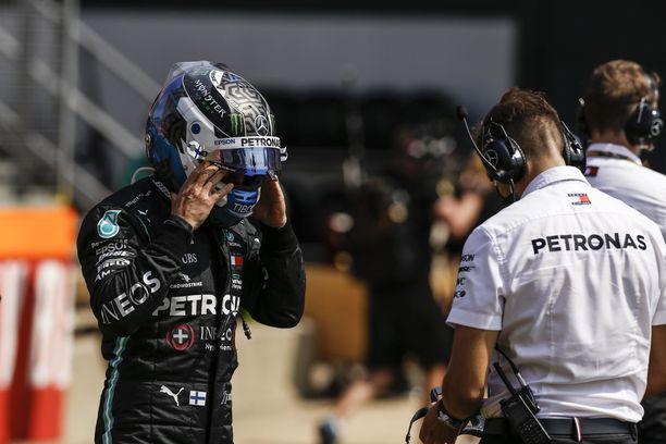 Valtteri Bottas olisi tarvinnut kisasta Lewis Hamiltonia suurempaa pistepottia.