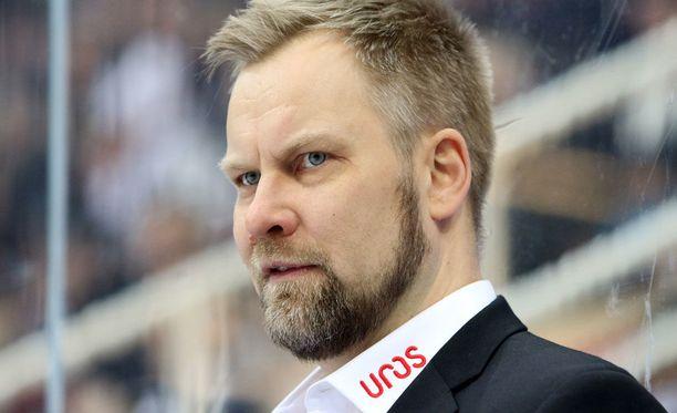 Mikko Manner oli tyytyväinen Kärppien ilmeeseen.