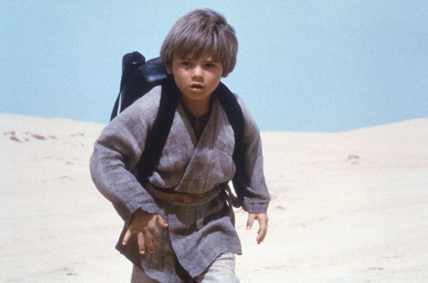 Jake Lloyd Anakin Skywalkerina vuonna 1999.