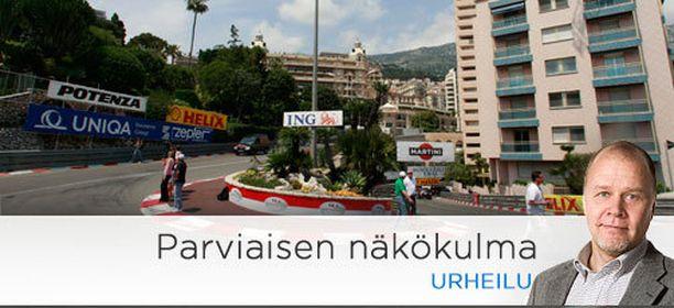 Grand Hotel -neulansilmä on Monacon radan hitain kohta.