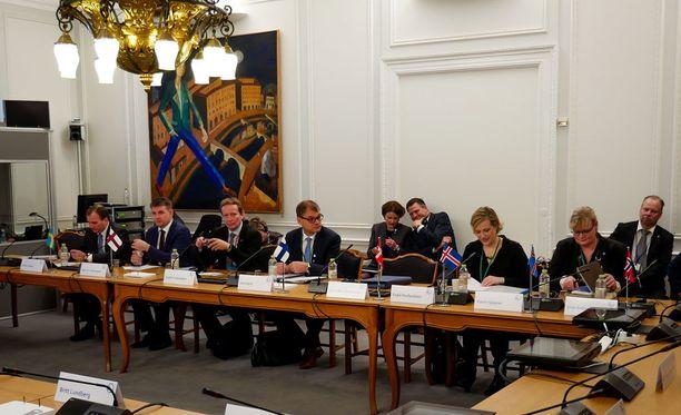 Rajatarkastukset nousivat esiin Pohjoismaiden neuvoston kokoukseen Kööpenhaminassa.
