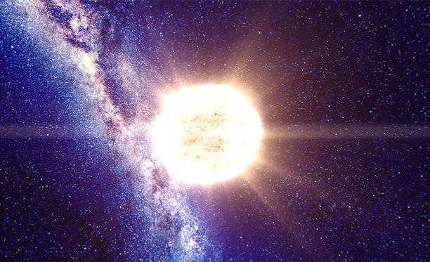 100 000 starsissa surffaat maailmankaikkeutta.