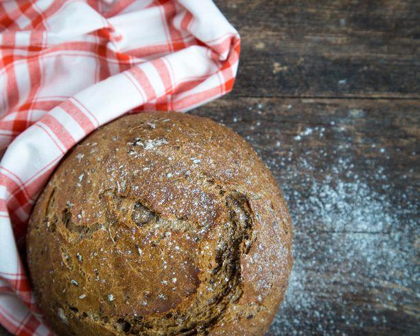 Vesielvytyksen kokeneen leivän kuori on entistä rapeampi.