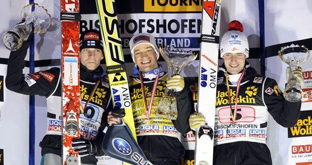 Kymmenen voitettua mäkiviikkoa jäi toistaiseksi haaveeksi Janne Ahoselle.