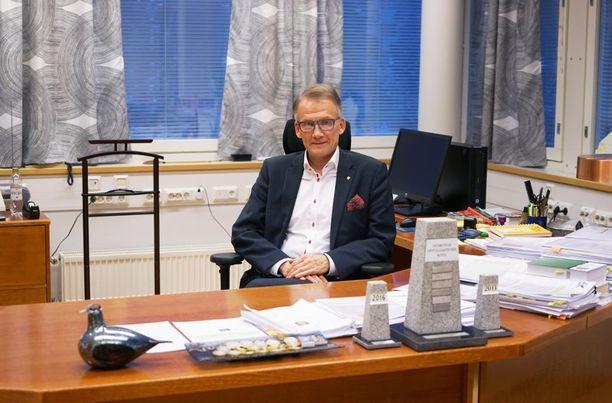 Ulvilan kaupunginjohtaja Jukka Moilasta ei harmita, että Jukka S. Lahden murhasta puhutaan Ulvilan murhana.