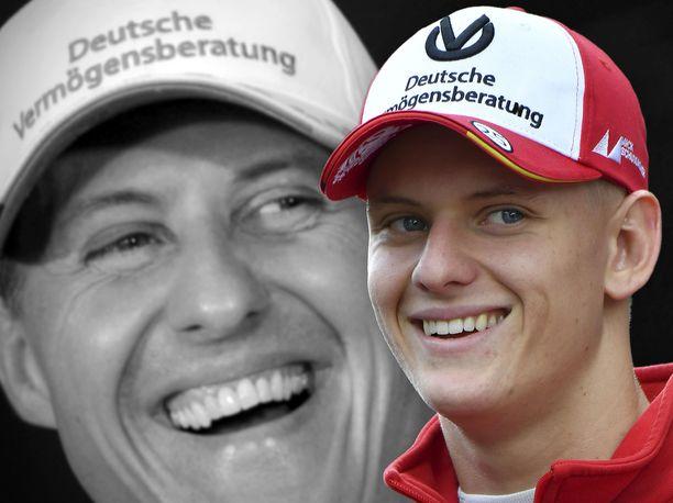 Mick Schumacher yrittää noudattaa isänsä ohjetta aina, kun hän istahtaa autoon.