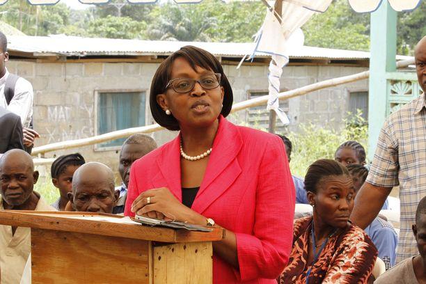 WHO:n Afrikan aluejohtaja Matshidiso Moeti.