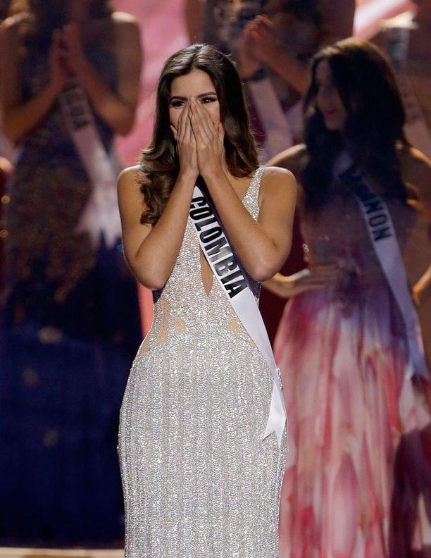 Paulina Vega on uusi Miss Universum.