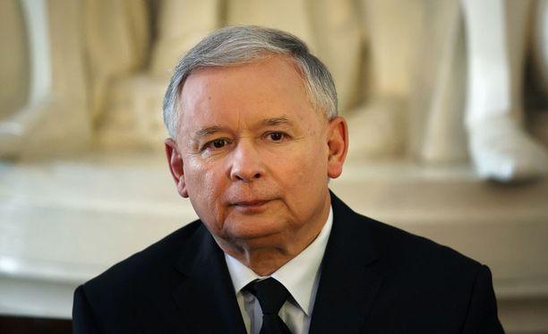 Jaroslaw Kaczynski on Puolan Laki ja oikeus -puolueen puheenjohtaja.